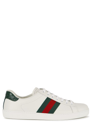Gucci Ace white leather sneakers