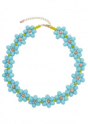 Stine Goya Illianna floral beaded necklace