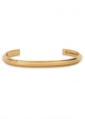 All Blues T Beam 18kt gold vermeil bracelet
