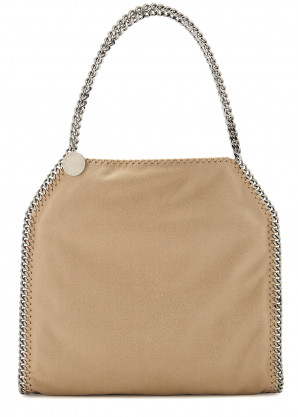 Stella McCartney Falabella small camel tote