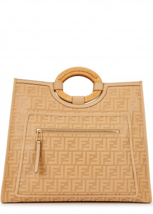Fendi Runaway large monogrammed leather tote