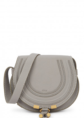 Chloé Marcie small leather saddle bag