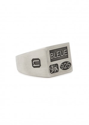 Bleue Burnham The Grandfather sterling silver signet ring