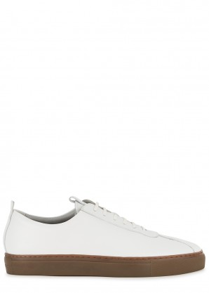 Grenson Sneaker 1 white leather sneakers