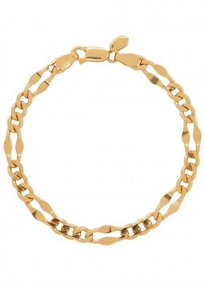 Maria Black Dean medium gold-plated chain bracelet