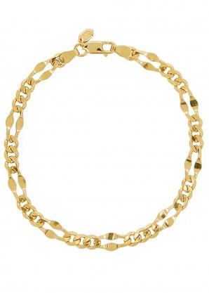 Maria Black Dean large gold-plated chain bracelet