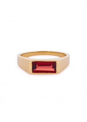 Maria Black Harald gold-plated ring
