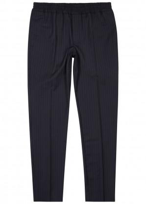 Samsøe & Samsøe Smithy black pinstripe trousers