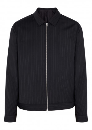 Samsøe & Samsøe New Gilbert navy woven jacket