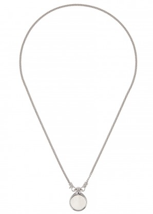 Tom Wood Finn sterling silver necklace