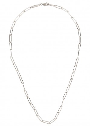 Tom Wood Sterling silver box chain necklace