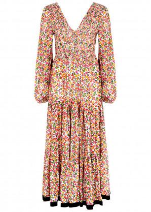 Rixo Brooke floral-print modal maxi dress