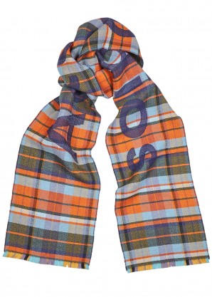 Acne Studios Victoria checked wool scarf