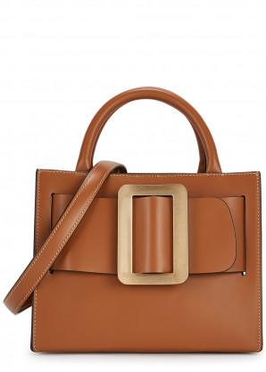 Boyy Bobby 23 brown leather top handle bag