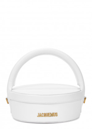 Jacquemus La Boîte à Gateaux leather top handle bag