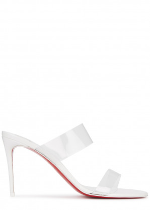 Christian Louboutin Just Nothing 85 patent leather sandals