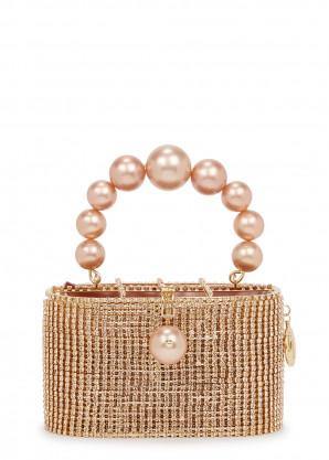 Rosantica Super Holli crystal-embellished top handle bag