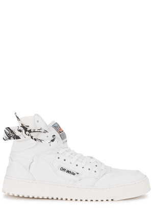 Off-White Off-Court 3.0 white canvas hi-top sneakers