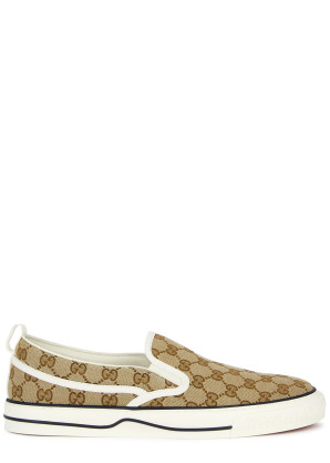 Gucci Tennis 1977 monogrammed skate shoes