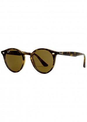 Ray-Ban Tortoiseshell round-frame sunglasses