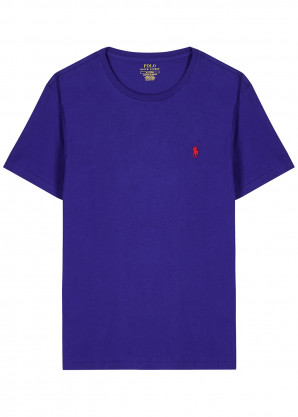 Polo Ralph Lauren Blue cotton T-shirt