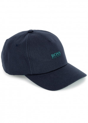 BOSS Fresco navy cotton cap