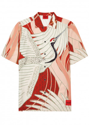 HUGO Efab printed shirt
