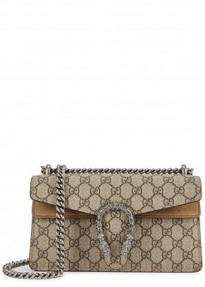 Gucci Dionysus GG Supreme monogrammed shoulder bag