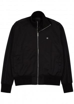 Givenchy Black jersey track jacket
