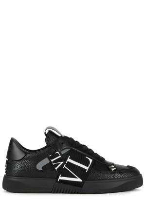 Valentino Valentino Garavani VL7N black leather sneakers
