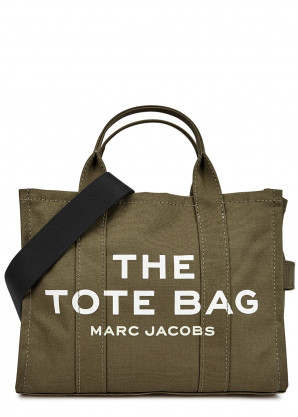 Marc Jacobs (The) The Traveler Tote small army green canvas bag