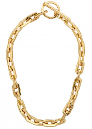 Jenny Bird Toni 14kt gold-dipped chain necklace