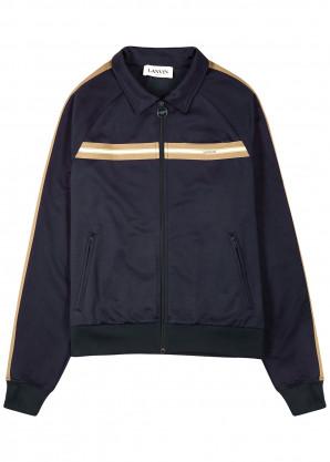 Lanvin Navy jersey track jacket