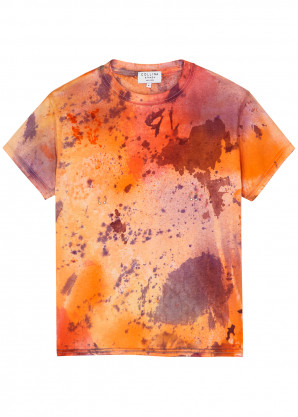 Collina Strada Tie-dyed cotton T-shirt