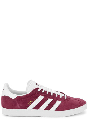 ADIDAS ORIGINALS Gazelle burgundy suede sneakers