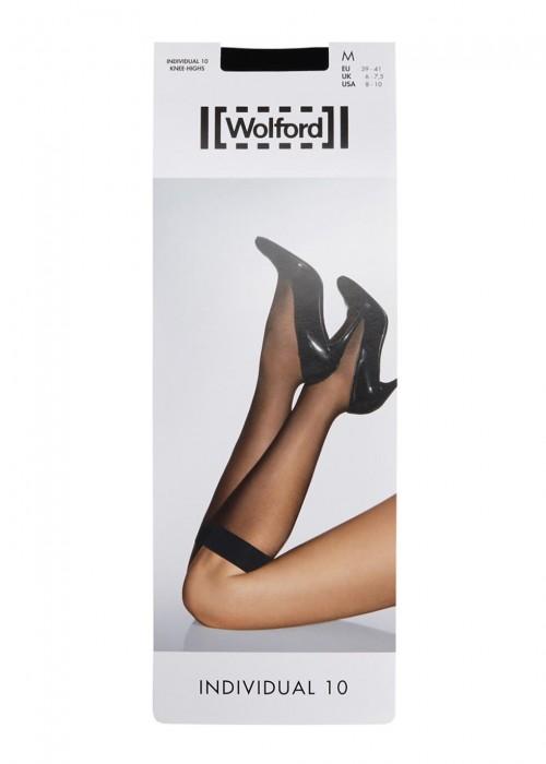 Wolford Individual 10 Denier Knee-high Socks Excellent Wide Range Of Cheap Supply IAK7Wj