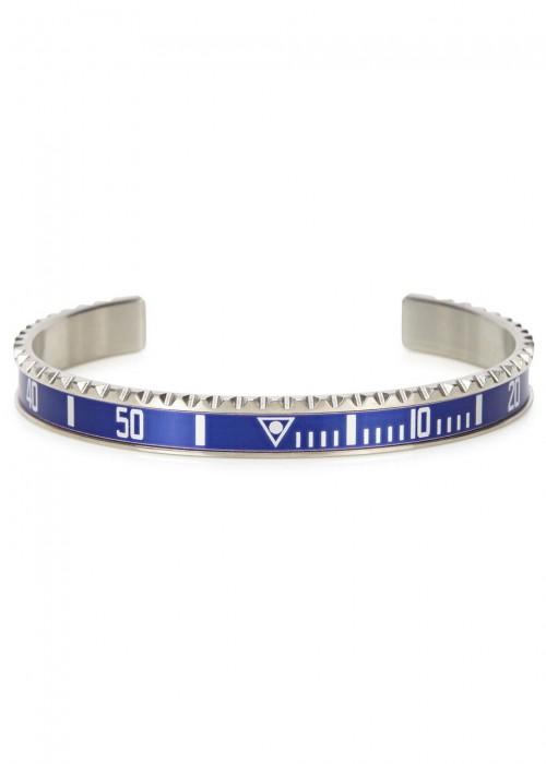 SPEEDOMETER OFFICIAL Blue Marine Steel Bracelet