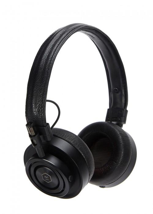 MASTER & DYNAMIC MH30 BLACK ALUMINIUM HEADPHONES