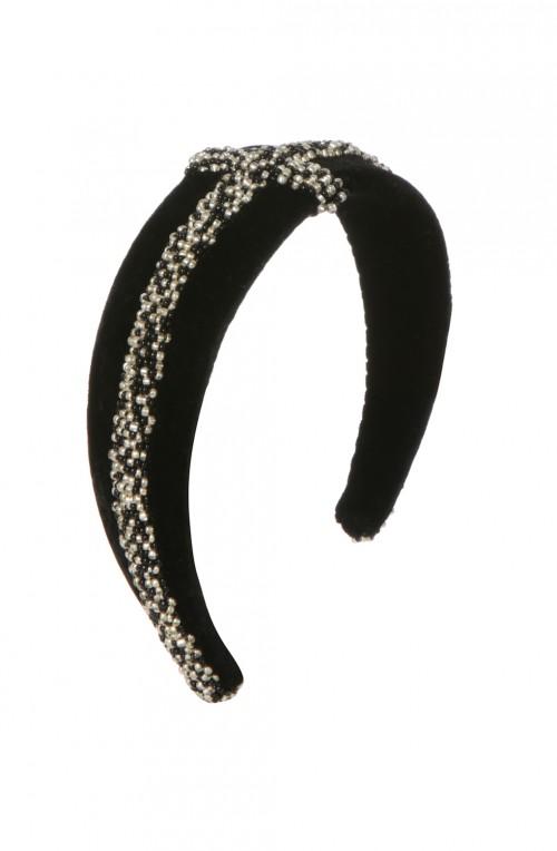 EMILY - LONDON Kingsbridge Velvet Headband
