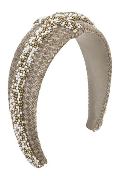 EMILY - LONDON Lismore Woven Headband
