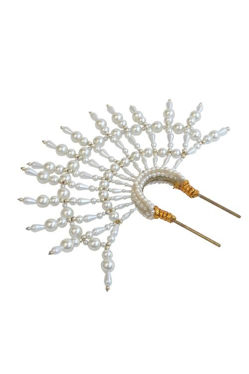 EMILY - LONDON Holme Pearl Headpiece