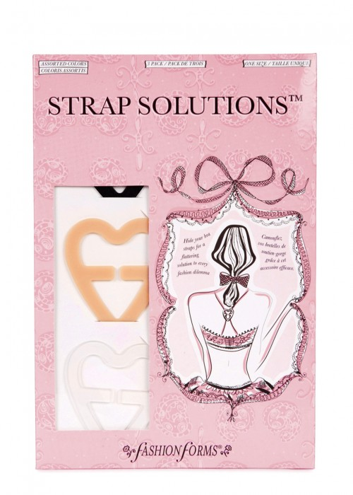 FASHION FORMS BRA STRAP SOLUTIONS - SET OF 3