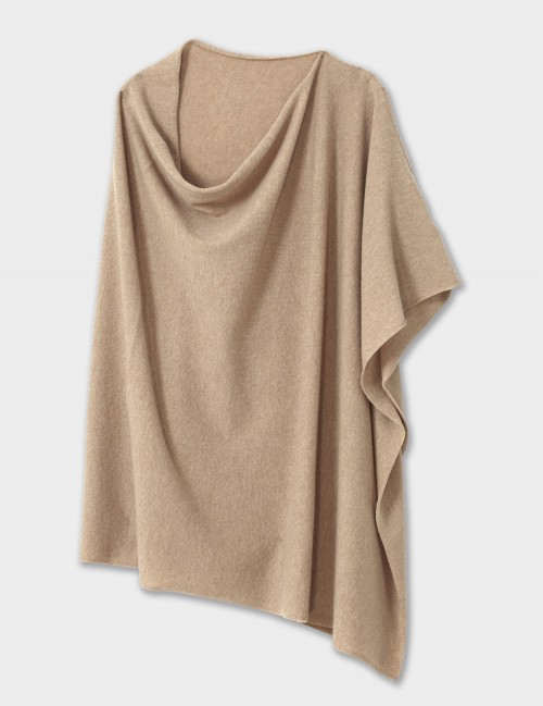 WINSER LONDON Cashmere Blend Poncho Wrap