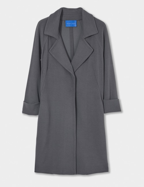 WINSER LONDON Crepe Jersey A Line Coat