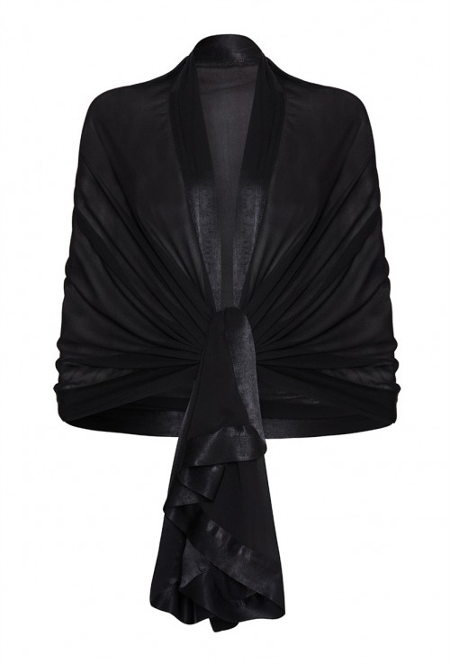 ZARA SHAWL BLACK