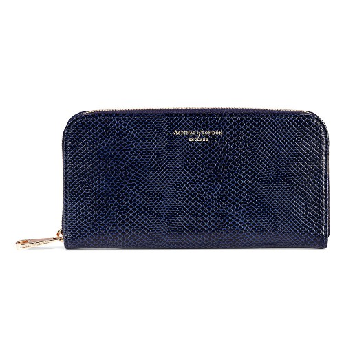 ASPINAL OF LONDON Aspinal Of London The Continental Zip Wallet