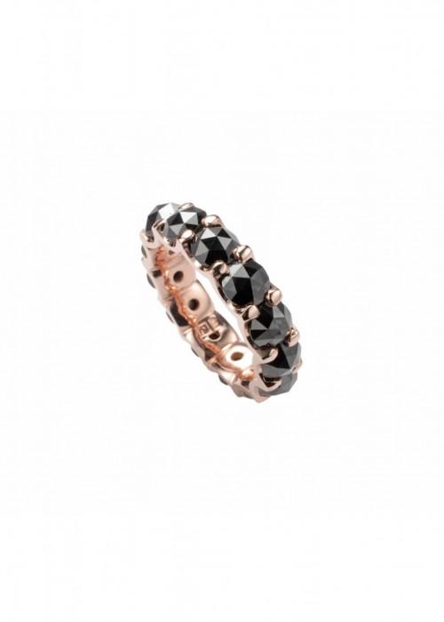 ARA VARTANIAN ROSECUT BLACK DIAMONDS RING