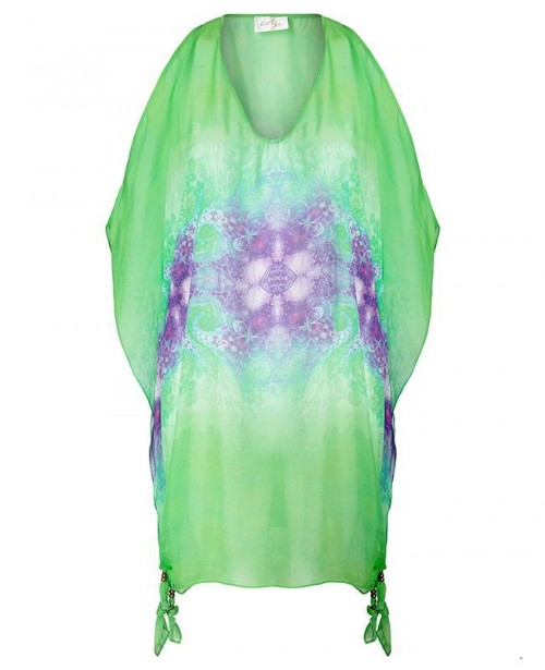AYA SILK Emerald Tunic