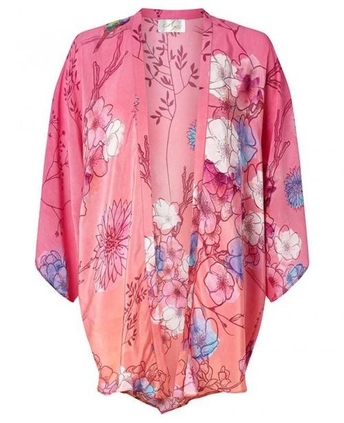 AYA SILK Opal Beach Kimono