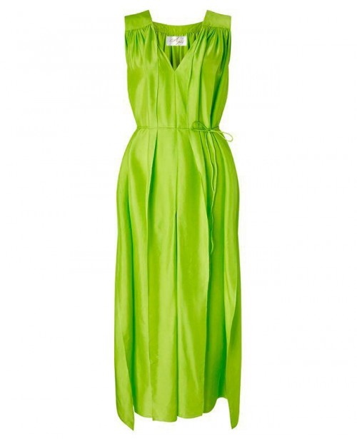 AYA SILK Peridot Maxi Dress